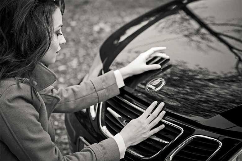 Saab Convertible Ad