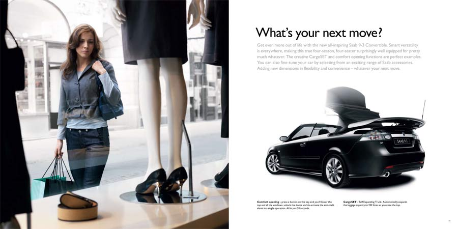 LIFESTYLE PURCHASE: Women are apparently more receptive to open driving