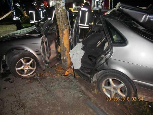 Saab crash