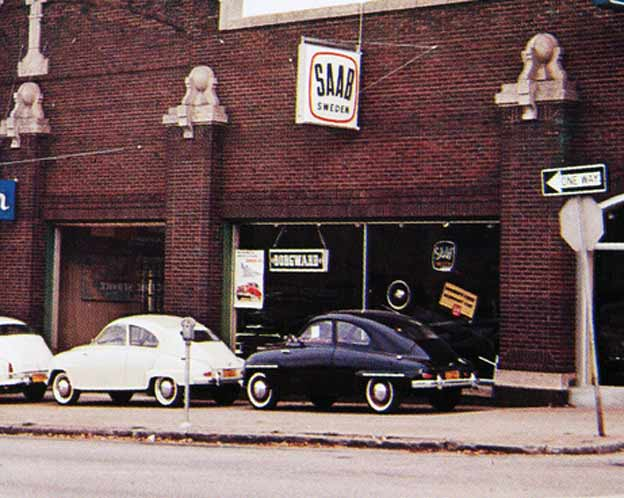 Saab dealerships from the past