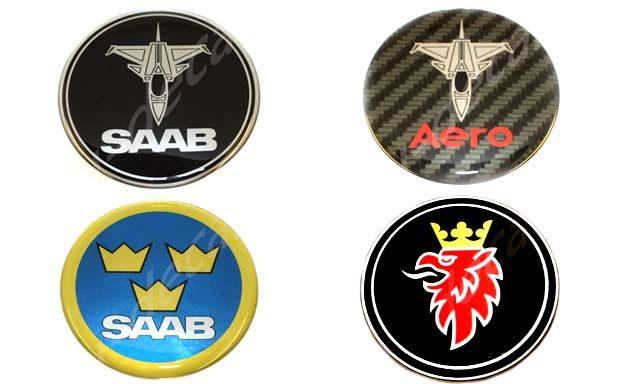 Saab 3D decals