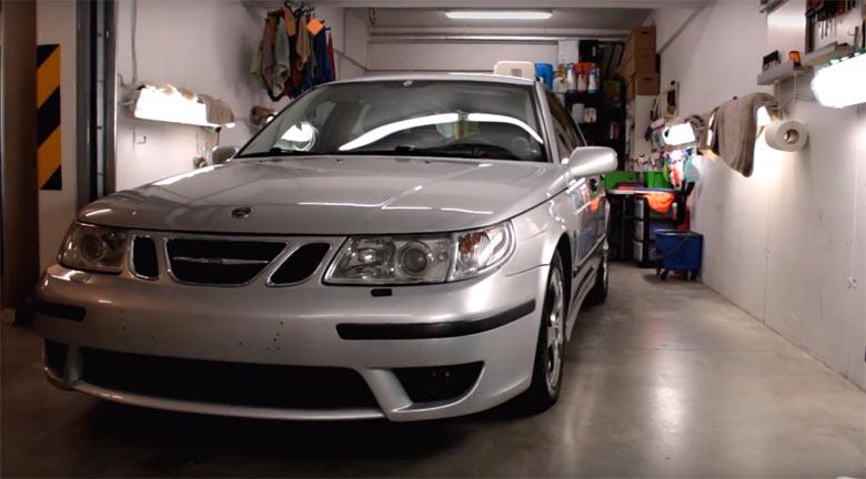 Saab detailing