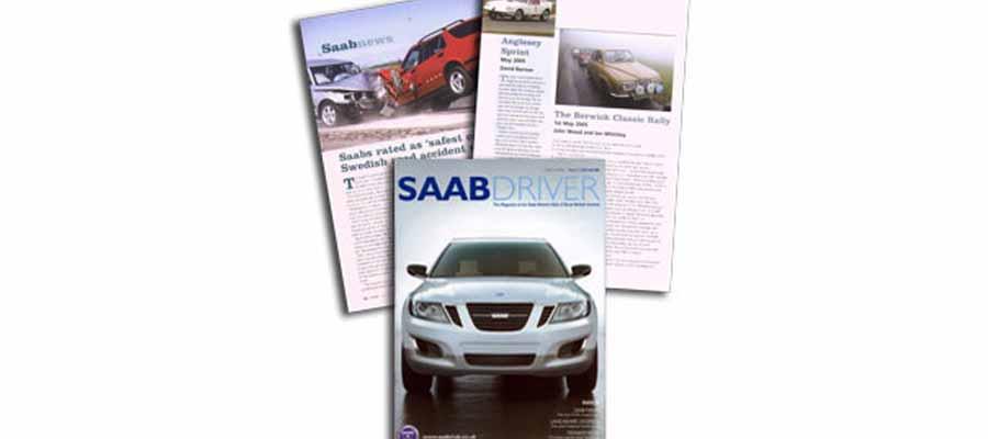 Saab Driver magazine