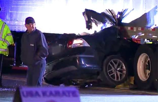 Saab driver survived