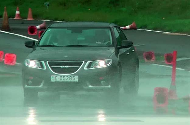 Saab Driving Academy