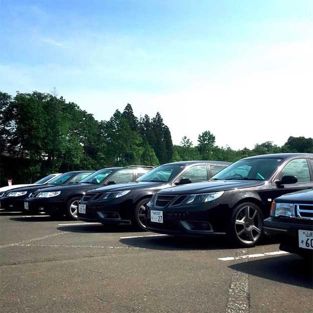 Saab Japan Gathering