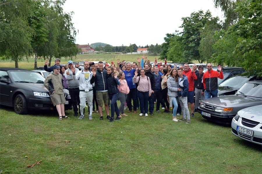 Saab Enthusiasts Meeting in Hungary