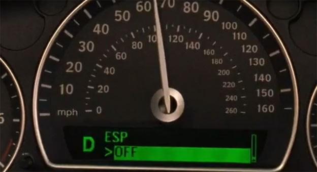 Saab ESP Off
