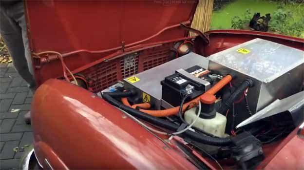 Saab 95 EV engine