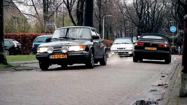 Saab Day in Breda