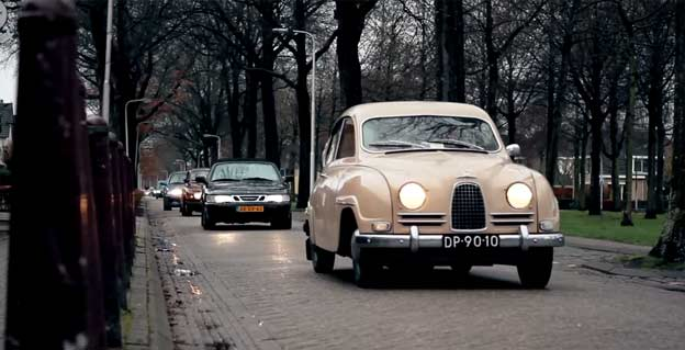 Saab event in Breda