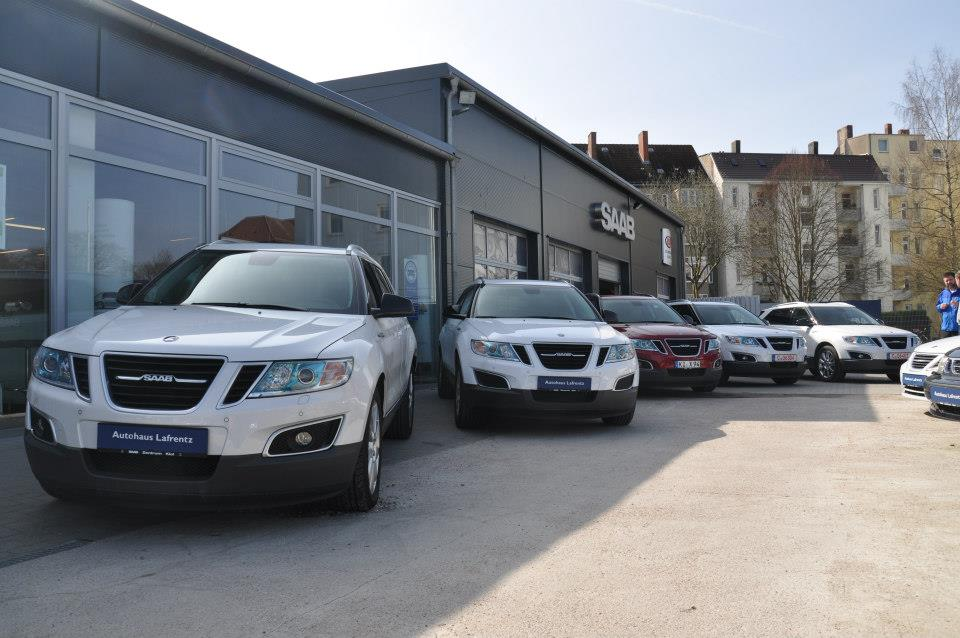 Used Saab 9-4X Fleet Discovered for Sale in Germany!