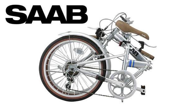 Saab folding bike