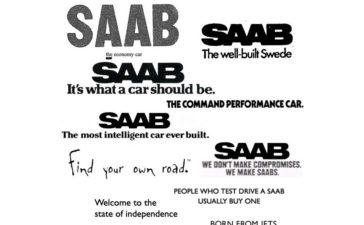 Saab font