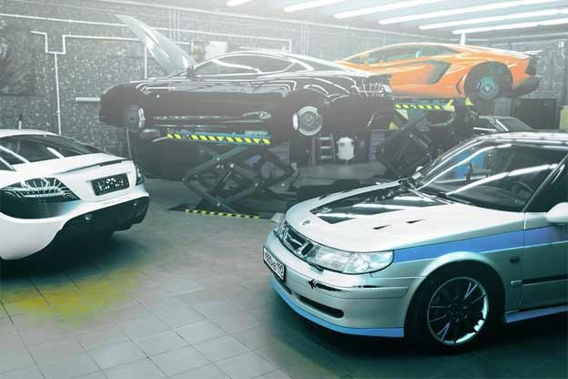 Tuned saab 9 5 aero from russia saab planet for Garage saab lyon