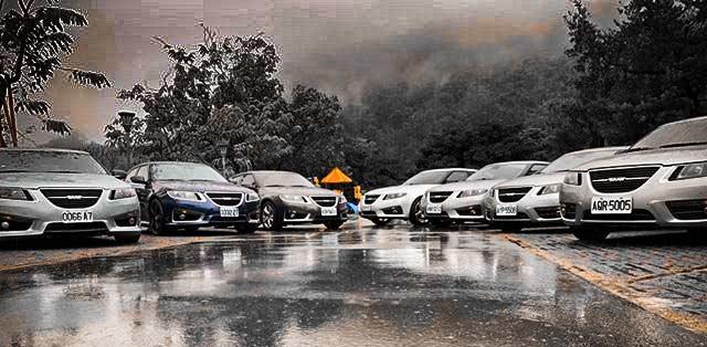 Saab gathering