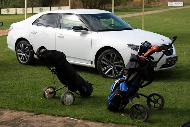 SAAB & Golf