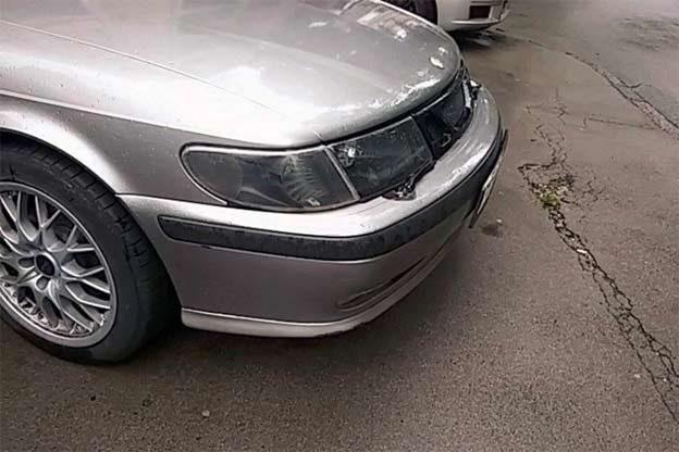 Saab Headlights