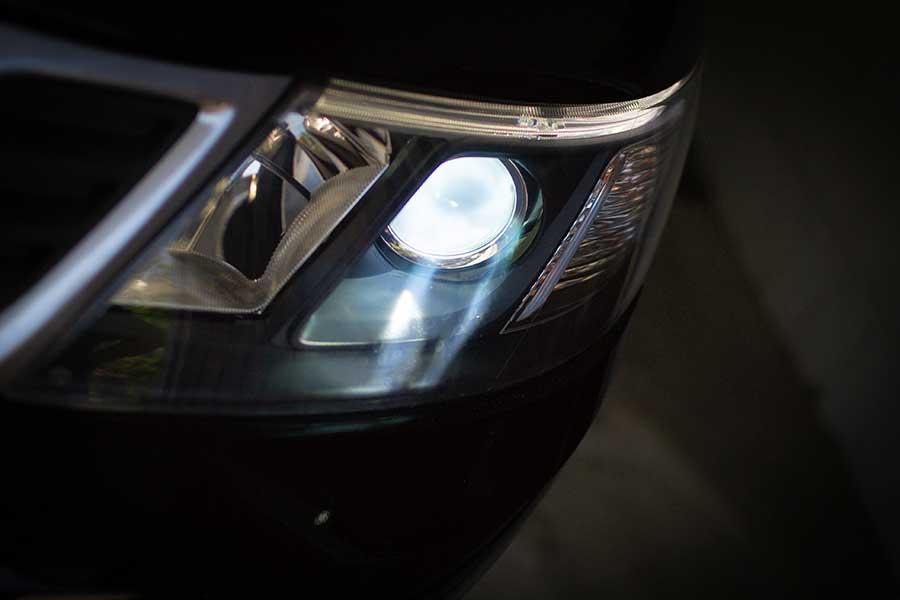 Saab Headlight Restoration