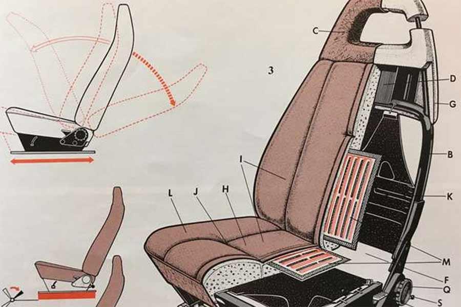 Saab heated seats