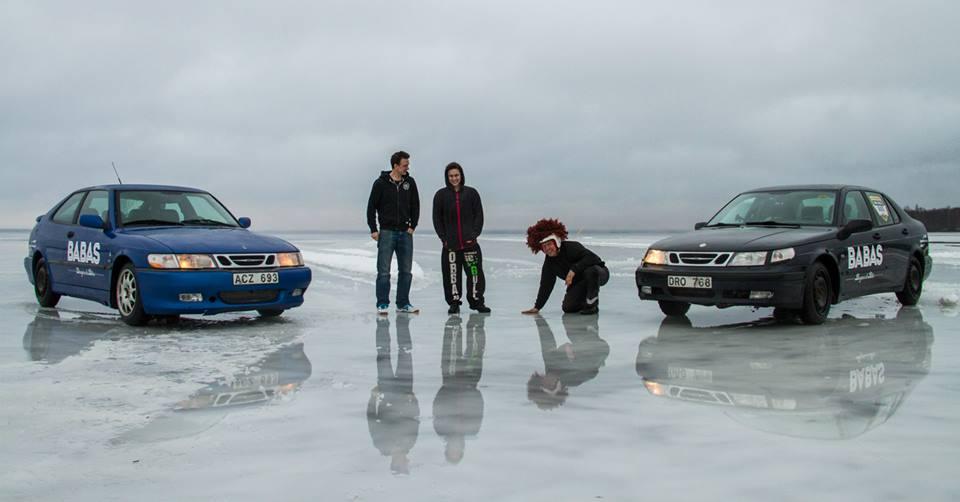 Saab 9-5 Record: 262 km/h on Ice!