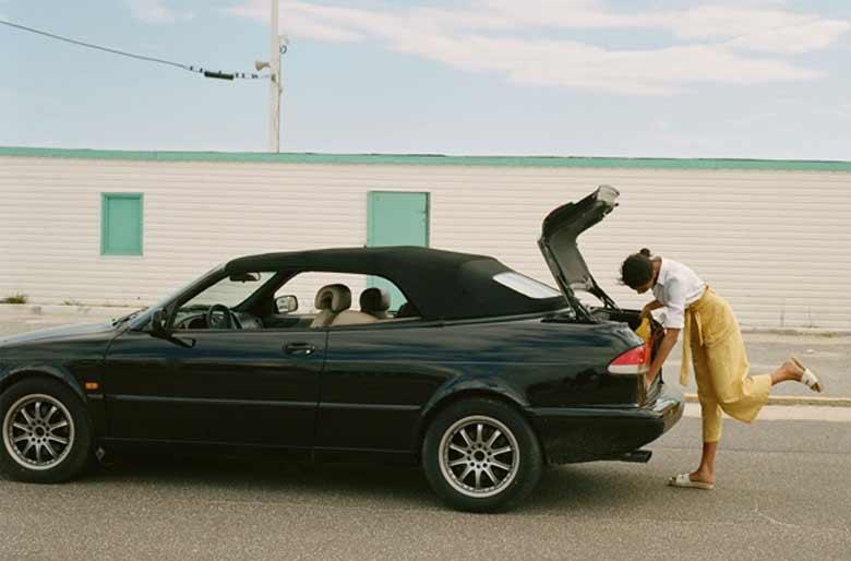 Saab in Zara campaign