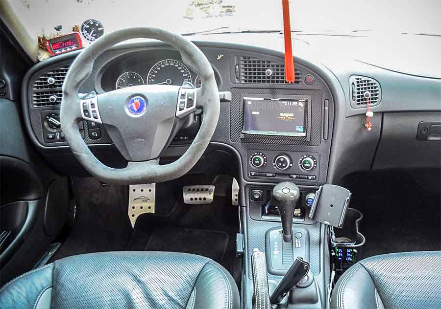 Saab Hirsched interior