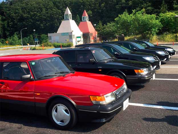 Saab Club Of Japan Spring Meeting 2016