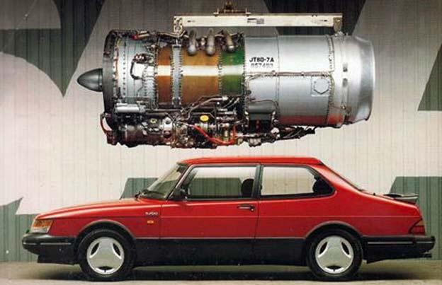 Saab Jet Engine