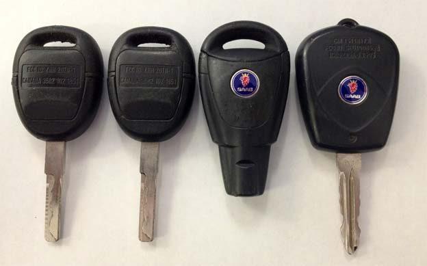 Saab keys