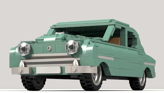 Saab Lego