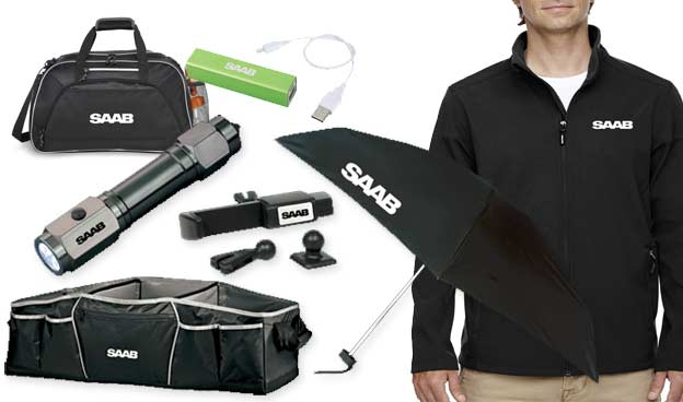 Saab lifestyle Promotional merchandise