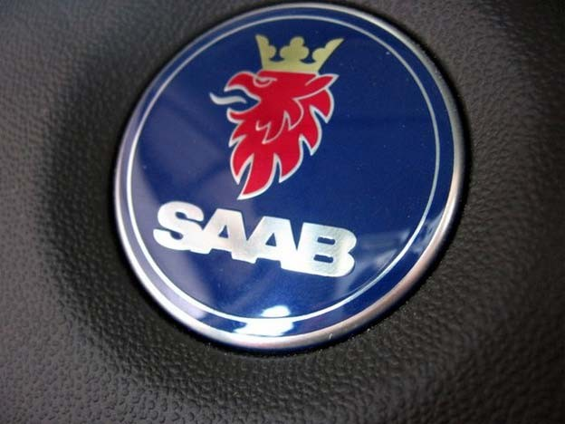Saab logo from 2000