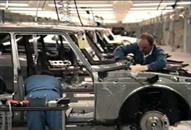 Saab 900 malmoe plant