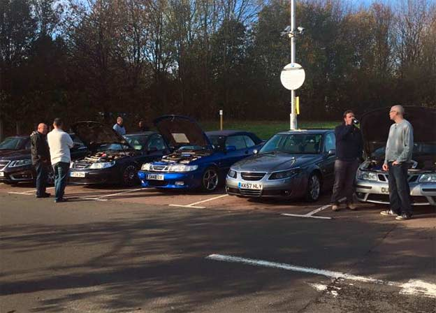 Saab Meeting UK