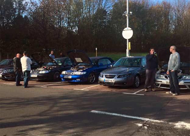 Saab Meeting UK