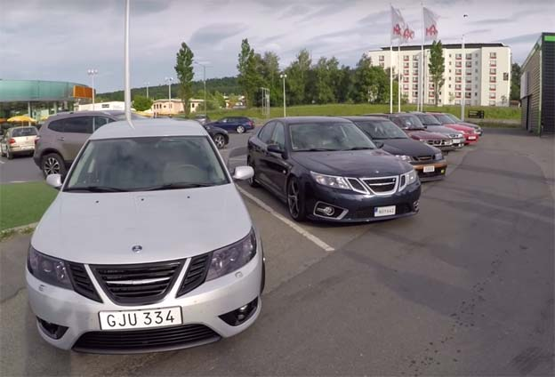 Saab Meetup in Sweden
