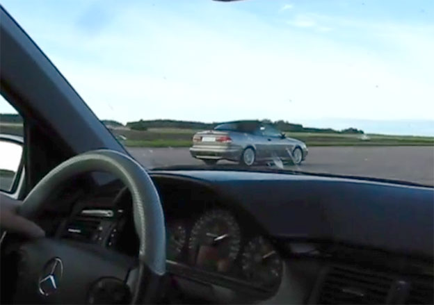 Saab 9-3 +430 HP Vs. Mercedes E55 AMG 400 HP
