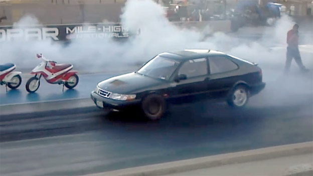 Fastest Saab in America! - 10.61@139.54mph