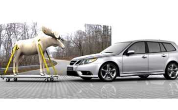 Volvo and Saab best in moose collisions situations.