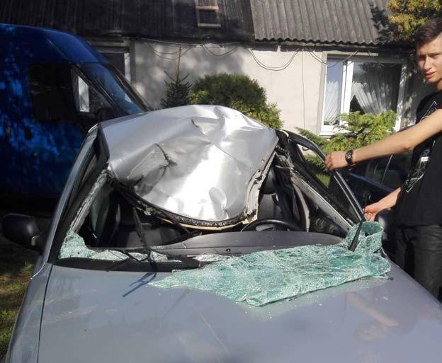 Saab Moose Crash Test in Real Life