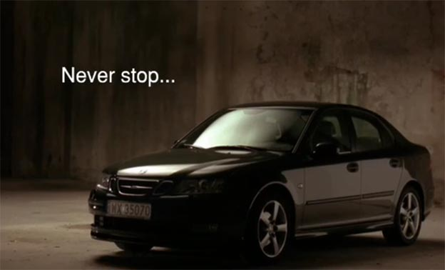 """Saab"" short movie - Never stop...falling in love."