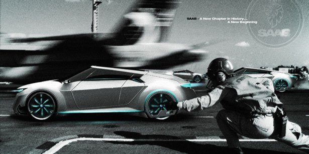 Saab Nespresso Lifestyle Concept car