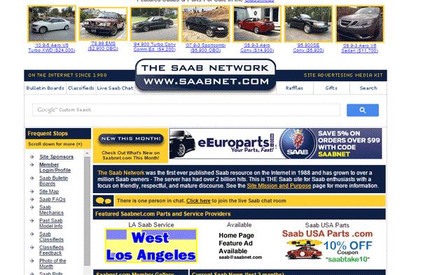 Saab network