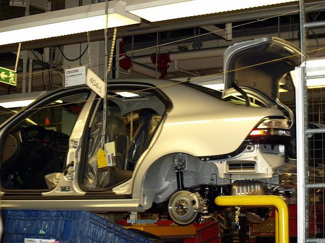 Saab - Nevs plant in Trollhatten