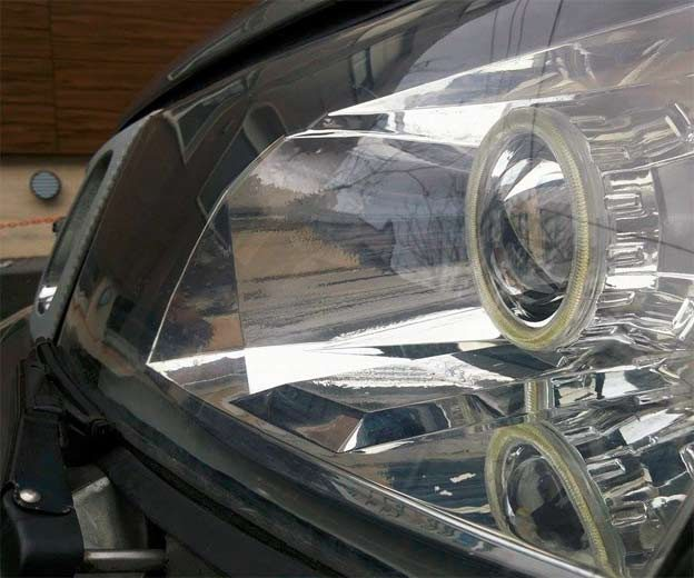 Saab Retrofit headlights