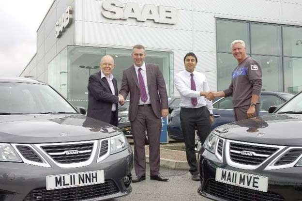 Sponsorship It also provides chief executive Alan Hardy and head of youth development Tony Philliskirk ( pictured ) with a Saab 9-3 SportWagon apiece.