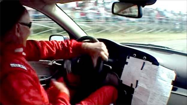 Saab Performance Team driver