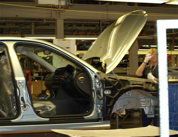 Saab plant in Trollhatten