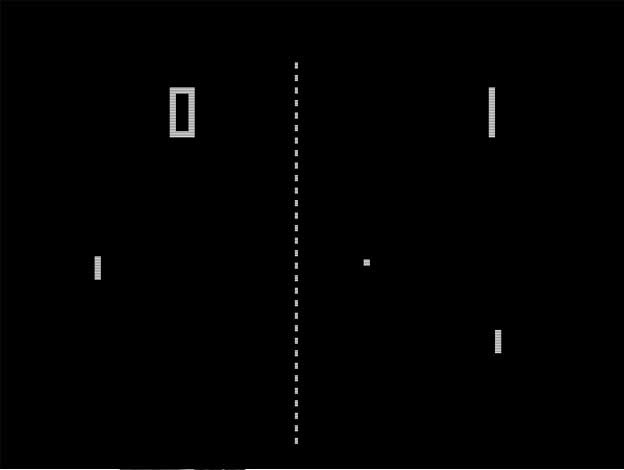 Saab Pong video game